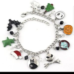 The night before Christmas charm bracelet